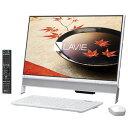 PC-DA370FAW【税込】 NEC 23.8型デスクトップパソコンLAVIE Desk All-in-one DA370/FAシリーズファインホワイト (O...