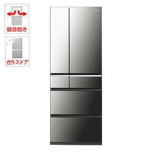 NR-F502XPV-X【税込】 パナソニック 501L 6ドア冷蔵庫(オニキスミラー) Panasonic エコナビ [NRF502XPVX]【返品種別A】【送料無料】【RCP】
