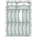 [鉄道模型]キャスコ (N) YP-051 貨車用ウレタン タキ (ライトグレー) 【税込】 [YP-051 カシャウレタン タキ1ライトグレー]【返品種別B】...