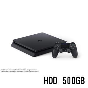 PlayStation 4 ジェット・ブラック 500GB【お一人様一台限り】 【税込】 ソニー・インタラクティブエンタテインメント [CUH-2000AB01 PS4ブラック500GB]【返品種別B】【送料無料】【RCP】