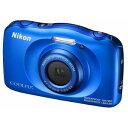 W100BL ニコン デジタルカメラ「COOLPIX W10...