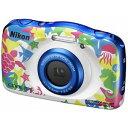 W100MR【税込】 ニコン デジタルカメラ「W100」(マリン) ニコン COOLPIX W100 [W100MR]【返品種別A】【送料無料】【RCP】