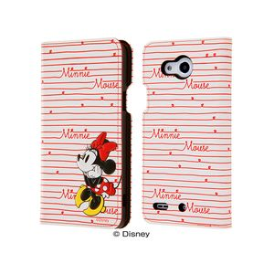 RT-DQPPXT/MN レイ・アウト Qua phone PX用 ディズニー 手帳型ケース ポップアップ カーシヴ ミニー 【Disneyzone】
