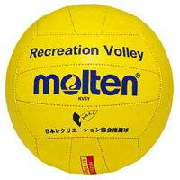 KV5Y モルテン バレーボール 直径約21cm (人工皮革) Molten レクリエーションバレー (黄)の画像