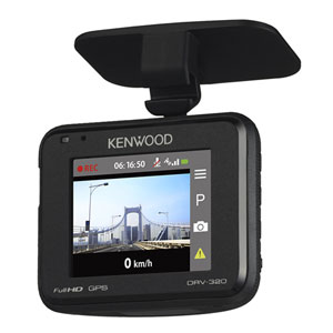 DRV-320 ケンウッド ディスプレイ搭載 ドライブレコーダー KENWOOD [DRV320]【返品種別A】