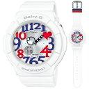 BGA-130TR-7BJF【税込】 カシオ BABY-G White Tricolor Series デジアナ時計 レディースタイプ [BGA130TR7BJ...
