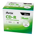 CDRA80CAVPW20A AVOX ������CD-R80ʬ 20��ѥå� [CDRA80CAVPW20A]�����'���A��