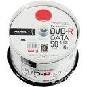 TYDR47JNP50SP【税込】 HI-DISC データ用 16倍速対応DVD-R 50枚パック 4.7GB ワイドプリンタブル [TYDR47JNP50SP...