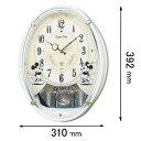 FW579W【税込】 セイコークロック 掛時計 からくり時計 ミッキー&フレンズ [FW579W]【返品種別A】【送料無料】【RCP】