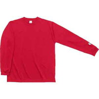 CB251324L-6400-2XO コンバース ロングスリーブシャツ(レッド・サイズ:2XO) CONVERSE [CB251324L64002XO]【返品種別A】の画像