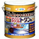 シリコンアクリルトタンSP3KGKGE アサヒペン 油性超耐久 シリコンアクリルトタン用 スーパー 3kg(こげ茶)
