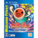 【PS Vita】太鼓の達人 Vバージョン Welcome Price!! 【税込】 バンダイナムコエンターテインメント [VLJS-00145]【返品種別B】【1201_flash】