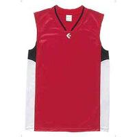 CB54702-6411-170 コンバース ジュニア用ゲームシャツ(レッド/ホワイト・170) CONVERSEの画像