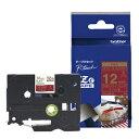 TZe-RW34【税込】 ブラザー P-Touch用・リボンテープ ワインレッド/金文字 12mm [TZERW34]【返品種別A】【RCP】