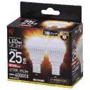 LDA3L-H-E17-2T32P【税込】 アイリスオーヤマ LED電球 小形電球形 230lm(電球色相当)【2個セット】 IRIS ECOHILUX [LD...