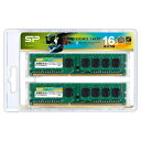 SP016GBLTU160N22JB シリコンパワー PC3-12800(DDR3-1600)240pin DDR3 SDRAM DIMM 16GB(8GB×2枚)