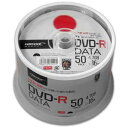 TYDR47JNP50SPMG【税込】 HI-DISC データ用 16倍速対応DVD-R 50枚パック 4.7GB ワイドプリンタブル [TYDR47JNP50...