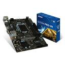 B250M PRO-VH MSI Micro ATX対応マザーボード [B250MPROVH]【返品種別B】【送料無料】