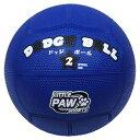 LPFS-5767 リトル パウ スポーツ ゴムドッジボール(青) 2号球 LITTLE PAW SPORTS