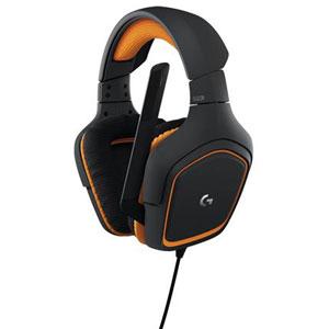 G231 ロジクール ゲーミングヘッドセット(グレー/オレンジ) Logicool G231 Prodigy Gaming Headset [G231]【返品種別A】