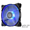 R4-JFDP-20PB-J1【税込】 クーラーマスター PCケースファン JETFLO 120 BLUE LED [R4JFDP20PBJ1]【返品種別A】【RCP】
