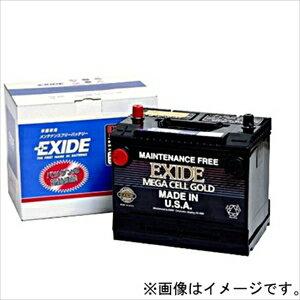 EX31 EXIDE 米国車用バッテリー【他商品との同時購入不可】 MEGA CELL GOLD [EX31エキサイド]【返品種別A】