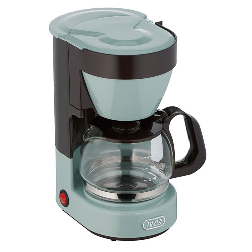 K-CM1-PA ラドンナ コーヒーメーカー PALE AQUA LADONNA Toffy4カップコーヒーメーカー [KCM1PATOFFY]