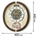 RE-579-B セイコークロック 電波からくり時計 セイコーメロディ [RE579B]【返品種別A...
