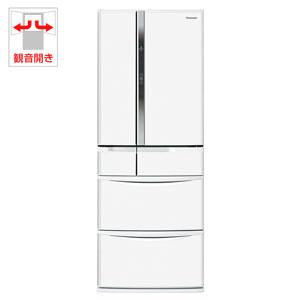 NR-FV45S2-W パナソニック 451L 6ドア冷蔵庫(クラフトホワイト) Panasonic エコナビ [NRFV45S2W]【返品種別A】【送料無料】(標準設置無料)