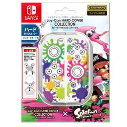 【Nintendo Switch】Joy-Con HARD COVER COLLECTION for Nintendo Switch(splatoon2)Type-A 【税込】 キーズファクトリー [CJH-001-1]【返品種別B】【RCP】