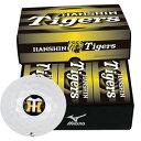 1GJRAT01006P【税込】 ミズノ 阪神タイガース公認グッズ ゴルフボール(JPX DE) 6個入り HANSHIN Tigers Golf Ball [1GJRAT01006P]【返品種別A】【RCP】