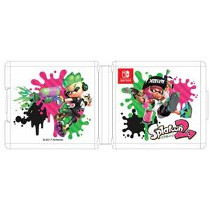 【Nintendo Switch】Nintendo Switch専用カードケース24 スプラトゥーン2 マックスゲームズ [HACF-02SP2]【返品種別B】