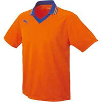 PAJ-903299-06-L プーマ サッカー ゲームシャツ(オレンジ・Lサイズ) PUMA(プーマ) 衿付き半袖ゲームシャツの画像
