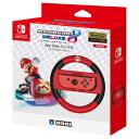 【Switch】マリオカート8 デラックス Joy-Conハンドル for Nintendo Switch(マリオ) ホリ NSW-054 ハンドル マリオ