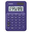 MW-C8C-PL カシオ 電卓 10桁 (パープル) CA...