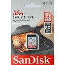 SDSDUNC-128G-GN6IN-T サンディスク SDXCメモリーカード 128GB Class10 UHS-I Ultra【並行輸入品】 [SDSDUNC128GGN6INT]【返品種別B】