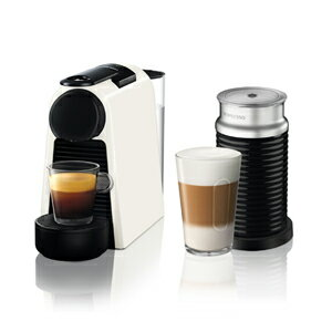 D30WH-A3B ネスプレッソ ネスプレッソコーヒーメーカー バンドルセット ピュアホワイト Nespresso エッセンサミニ