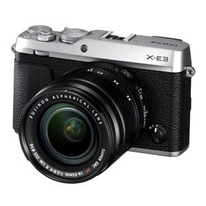FX-E3LKS 富士フイルム ミラーレス一眼カメラ「FUJIFILM X-E3」ズームレンズキット(シルバー)
