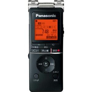 RR-XS470-K パナソニック リニアPCM対応ICレコーダー8GBメモリ内蔵+外部マイクロSDスロット搭載(ブラック) Panasonic