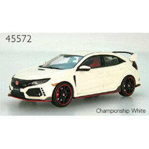 1/43 Honda CIVIC TYPE R 2017 Championship White【45572】 EBBRO [エブロ 45572 Honda CIVIC TYPE R White]【返品種別B】