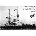 玩具, 爱好, 游戏 - 1/700 英戦艦マジョスティック・1895【CS70441】 コンブリック