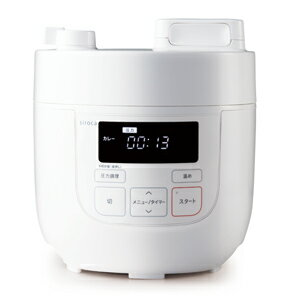シロカ電気圧力鍋 SP-D121