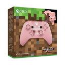 【Xbox One】Xbox ワイヤレス コントローラー(Minecraft Pig) マイクロソフト [WL3-00054 Xboxコントローラーマインクラフトpig]【返品種別B】【送料無料】