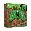 【Xbox One】Xbox ワイヤレス コントローラー(Minecraft Creeper) マイクロソフト [WL3-00058 XboxコントローラーマインクラフトCreeper]【返品種別B】【送料無料】