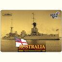 1/350 豪巡洋戦艦オーストラリアWW1フルハル コンブリック