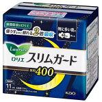 ロリエ スリムガード 特に多い夜用400 羽つき 11コ 花王 ロリエスリムGヨル40 11コ