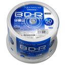 HDVBR25RP50 HIDISC 4倍速対応BD-R 50枚パック25GB ホワイトプリンタブル ハイディスク [HDVBR25RP50]【返品種別A】