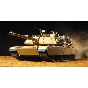 1/16 電動RC組立キット アメリカ M1A2 エイブラムス戦車 フルオペレーションセット(プロポ付)【56040】 タミヤ [T 56040 エイブラムス フルオペ]【返品種別B】
