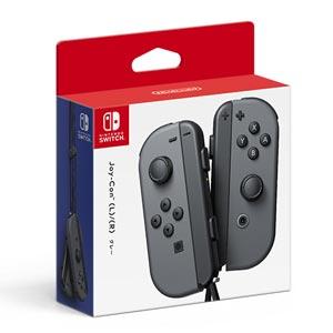 【Nintendo Switch】Joy-Con(L)/(R) グレー 任天堂 [HAC-A-JAAAA NSWジョイコンLRグレー]【返品種別B】