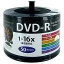 HDDR47JNP50SB2 HIDISC データ用 16倍速対応DVD-R 50枚パック4.7GB 詰替用エコパック ハイディスク ワイドプリンタブル